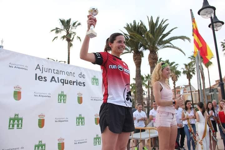 LUCÍA GONZÁLEZ, 2ª en ALQUERÍAS